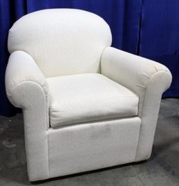 """Thomasville Upholstered Arm Chair, 36""""W x 36""""H"""