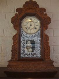 Antique working Ansonia Clock