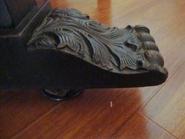 close up of foot