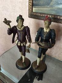Painted Metal Figures (Spanish)