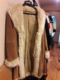 New Wilson leather coat
