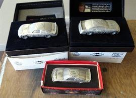 Dale Earnhardt Sr. Pewter cars