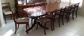Glenister dining table and chairs