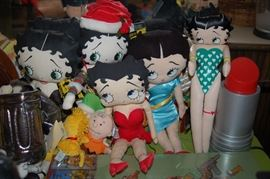 Betty Boop and a lipstick lamp!!