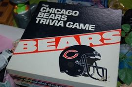 Bears trivia game from the 80's