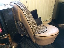 Adorable shoe chair!