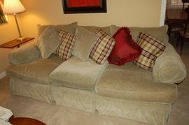 Thomasville couch, down filled, very comfortable!