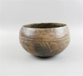 Pre Columbian Ceramic Polychrome Bowl