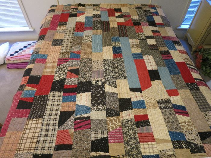 Large Patch Quilted Before 1925