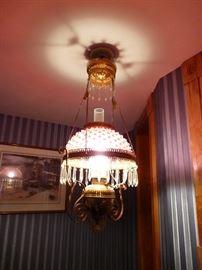 Great Victorian light fixture
