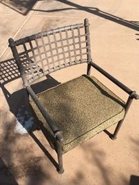 """Set of 8 patio chairs. 36""""h x 23""""w x 22""""d"""