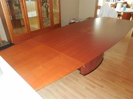 House of Denmark Dining Table with Removable End Leaves