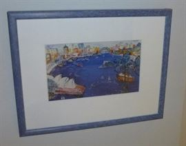 Australia Framed Print