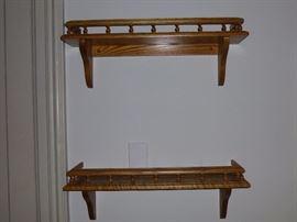 Oak Wall Shelves