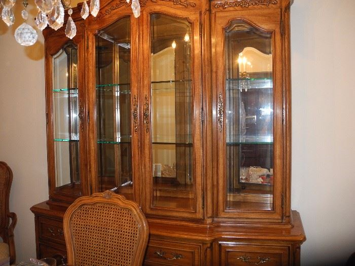 Beautiful dining room china hutch