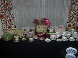 Sampling of Fine China to be had
