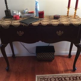 ONE OF MANY FINE PIECES OF FURNITURE . SOLID WOOD.
