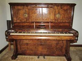 Birdseye Maple Piano