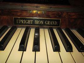 Upright Iron Grand