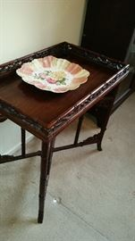 Asian side table $125