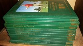 Set of golfing books $7