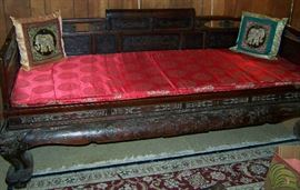 Chinese Opium Day Bed
