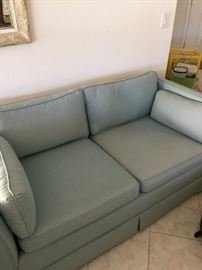 Love seat to match couch, fabric