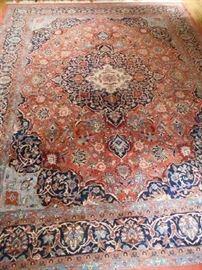 "Persian Area Rug, 8'6"" x 11'"
