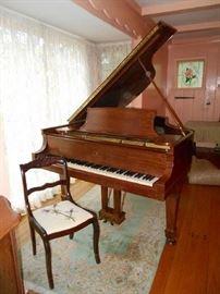Steinway Baby Grand Piano, date 1910