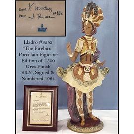 "Figurine Lladro Firebird 3553 Signed Numbered 23.5"""