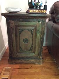 Asian style chest - great for storage. Measures 22 inches long x 14 inches wide x 29 inches tall. ($300)