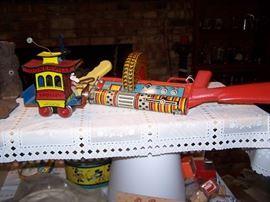Toonerville trolley, Marx G-man gun