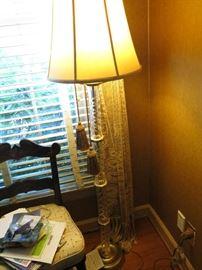 Waterford floor lamp.