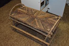"Locally made ""twig"" furniture"