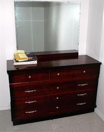 Nice Mahogany Finish Dresser