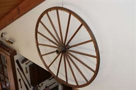 Antique Carriage Wheels (2)