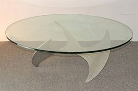 "Lot 4 Knut Hesterberg ""Propeller"" Coffee Table"