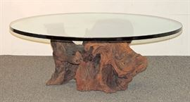 Lot 18 Spalted Sycamore Root Cocktail Table
