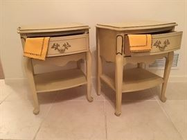 Night stands; French Provencial