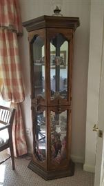 Small display cabinet - $100    buy ahead  NOW $50