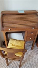Child desk and chair    $100  NOW only $50