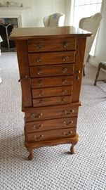 Tall jewelry chest  $100 NOW only $50