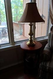 lamp & sofa table