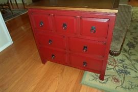 cute little 7 drawer painted chest