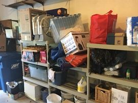 This is the garage! We will be uncovering great items up to the day of the sale - it is filled with stuff you want!