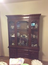 Vintage China hutch without dishware