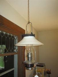 Aladdin hanging oil lamp
