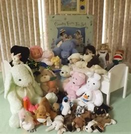 HCE001 Children's Tea Set, Doll Cribs & Stuffed Animals