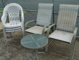 HCE021 Great Outdoor Furniture - Chairs, Tables, Foot Rests