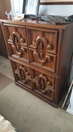 Dresser as part of bedroom set